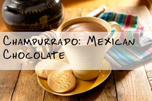 Champurrado Mexican Drink